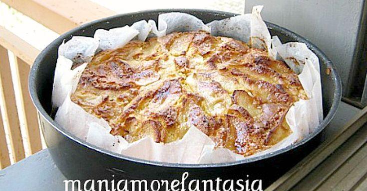 La ricetta della torta di mele che preferisco.... compatta, burrosa, profuma di nonna! Provate la ricetta di Mani amore e fantasia, cliccate sul link