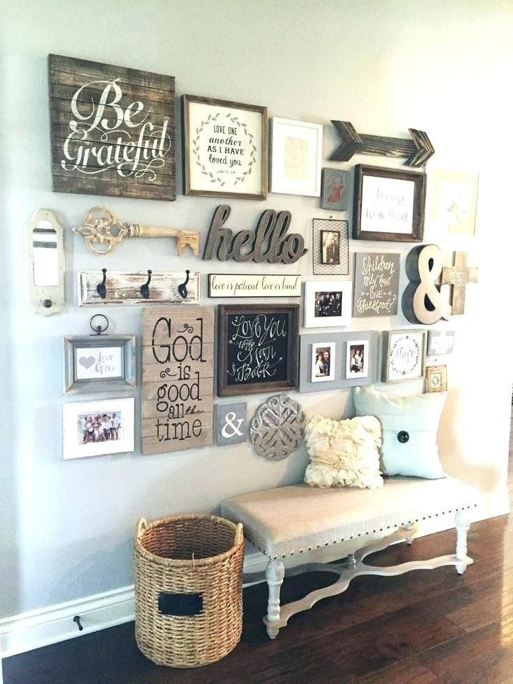 Empty Picture Frame Wall Ideas Wall Frames Decorating Ideas Picture Frame Wall Decor Ideas Of Nifty Ideas About Frame W Home Decor Decor Farm House Living Room