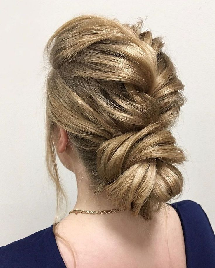 Loose Braid And Up Do: Best 25+ Elegant Updo Ideas On Pinterest