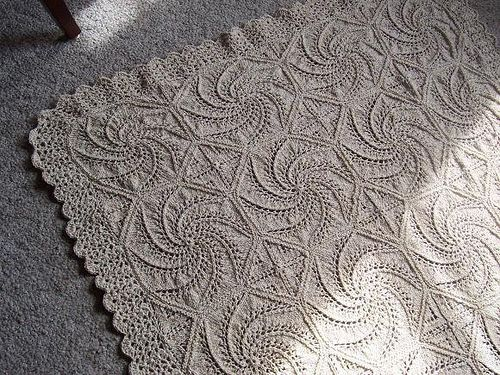 Knitting Pattern For Roots Blanket : Swirls and Squares by Mary Walker Phillips view DoryOs ...
