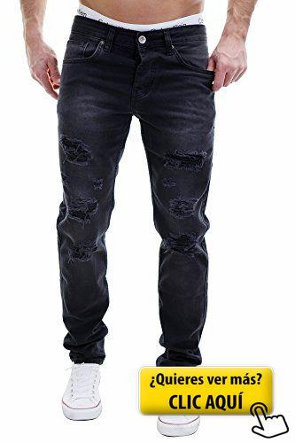MERISH Vaqueros para Hombre Pantalones Slim Fit... #pantalones