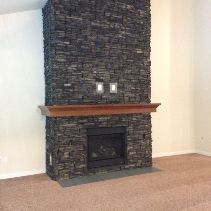 1000 images about stone used on homes on pinterest for Eldorado black river stacked stone
