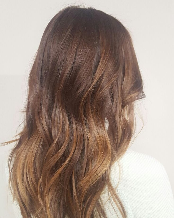 #hairbyrosiie #brunette #blonde #highlights #balayage #hairpainting #goldwell