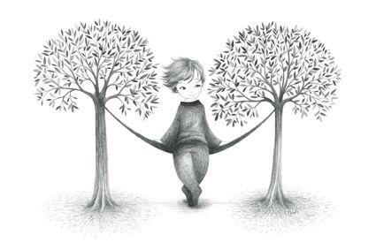 Entre deux arbres Oreli Gouel