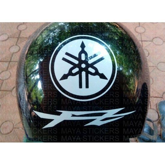 Yamaha FZ logo sticker for bike helmets | car and bike ...