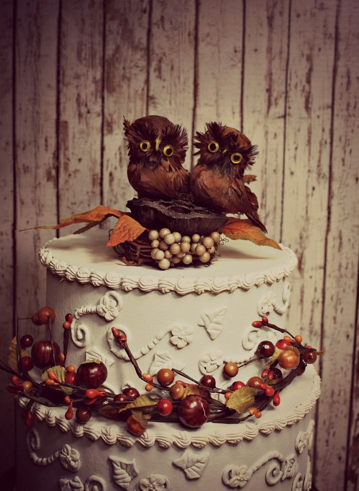 Fall Wedding Cake Ideas Can Be Chosen To Used As Your Because Of Its Beautiful Decoration The White Color This Will