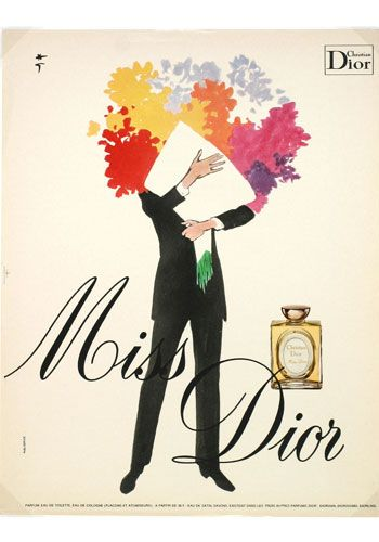 Vintage Beauty Ads.  Those of you who read my newsletter will understand I'm obsessed with Dior. If I had the budget, I'd wear Dior every day.