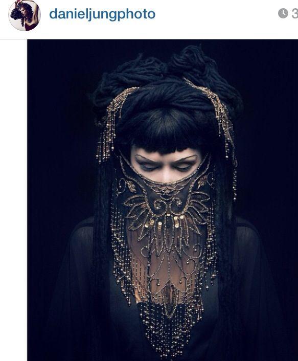 Lace beard #raven queen