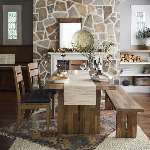 Reclaimed Pine Nolan Dining Table World Market Home