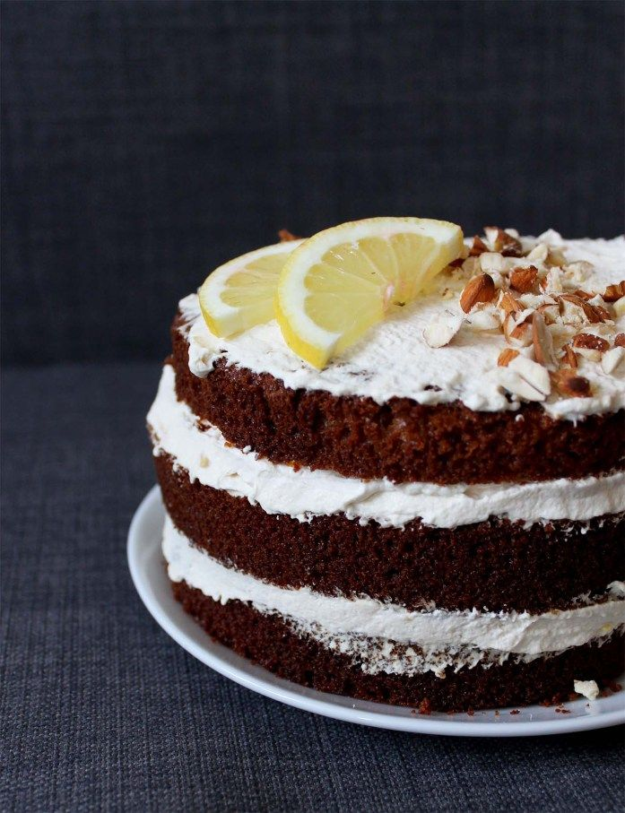 Almond & Lemon Layer Cake | Cake + Whisky