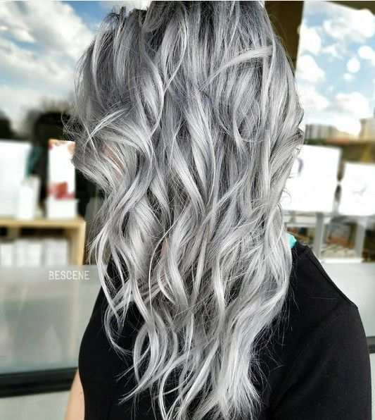 Perfect gray&silver blondes - Slate grey, Dove grey, Grey lilac, and Silver