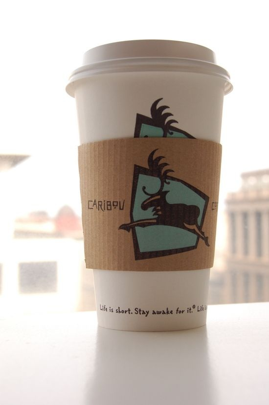 Caribou Coffee...Love, Love this coffee. So delicious and rich.