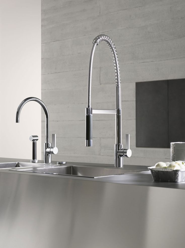 Dornbrachtu0027s Modern Flexible Kitchen Faucet And Kitchen Faucet With Hand  Spray / TARA ULTRA Collection