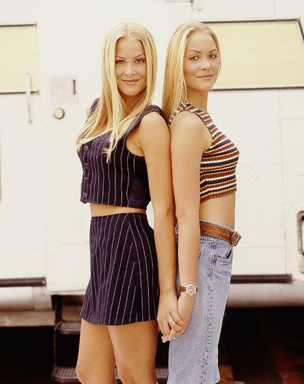 "Sweet Valley High - Brittany Daniel - Jessica Wakefield and Cynthia Daniel - Elizabeth ""Liz"" Wakefield"