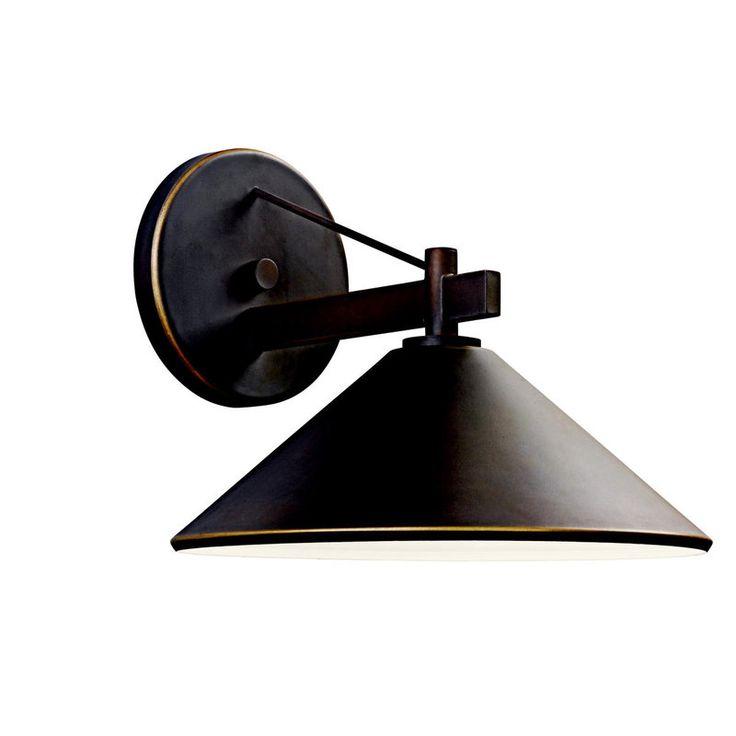 Kichler 49061OZ Olde Bronze Ripley Collection Number Of Bulbs: 1 Height: 10  Width: · Outdoor WallsOutdoor LightingOutdoor ...