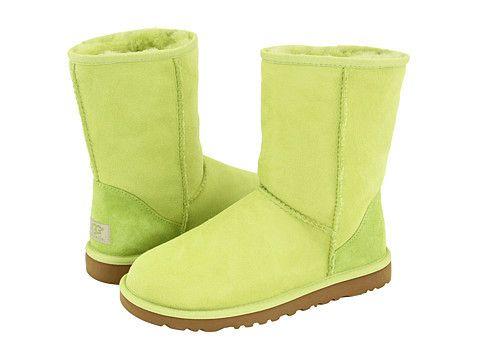 green uggs short