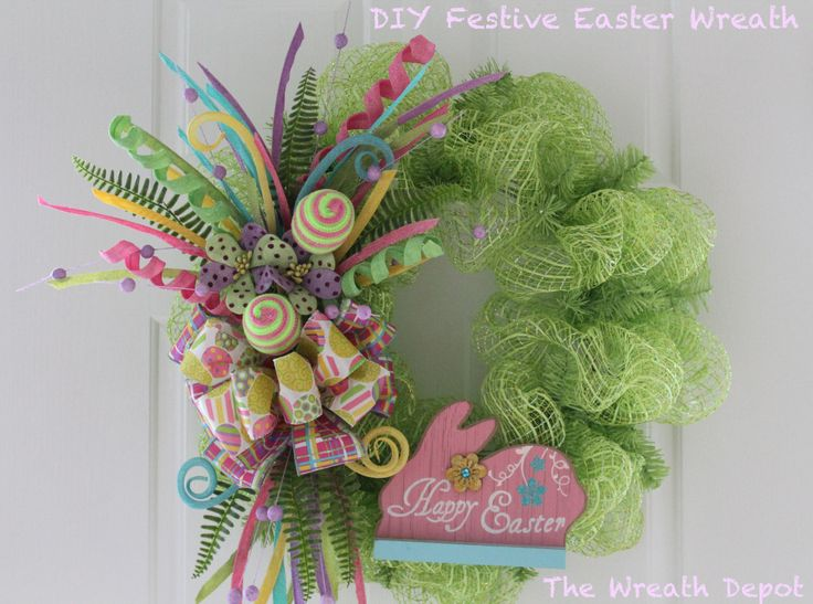 1000 Ideas About Easter Wreaths On Pinterest Christmas