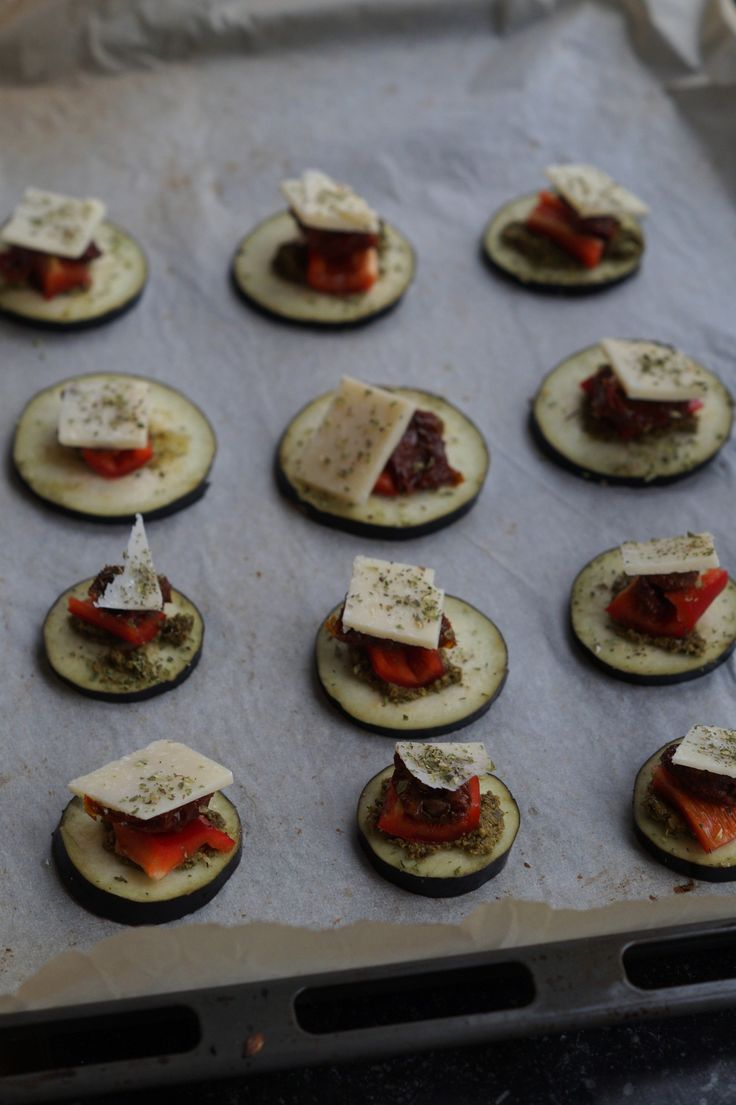 Aubergine snacks