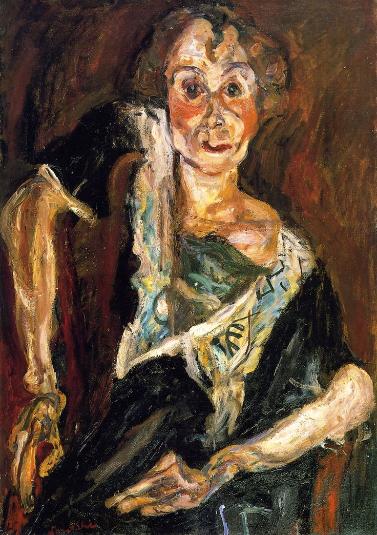 The Old Actress, 1922 / Chaim Soutine
