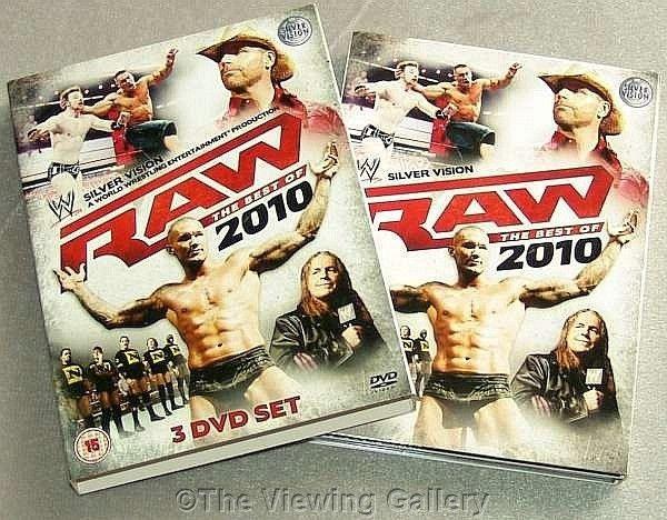 WWE RAW The Best Of 2010 DVD Undertaker 3 DISC Orton BOX
