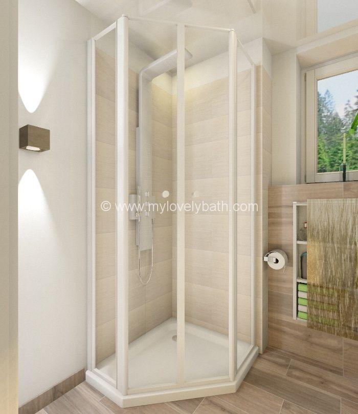 Badplanung kleines Bad Dusche | Badezimmer | Pinterest