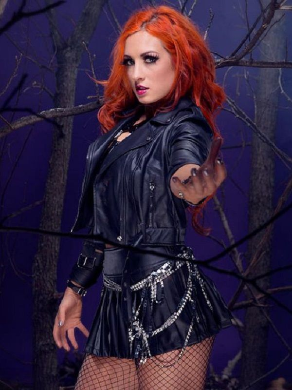 WWE Rebecca Quin Leather Jacket