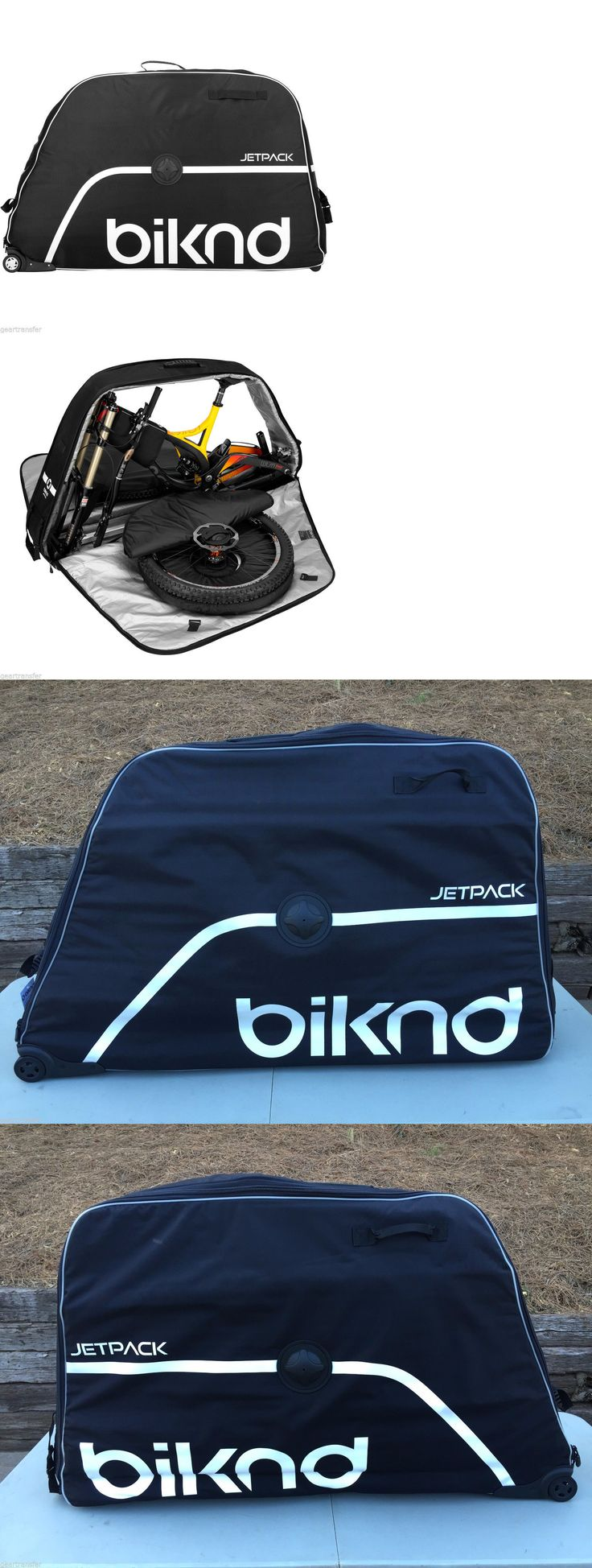 Bicycle Transport Cases and Bags 177835: Biknd Jetpack Bike Travel Case For Air Travel Bicycle Protection - Black - New -> BUY IT NOW ONLY: $399.99 on eBay!