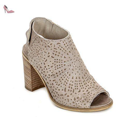 Hautes By Alesya Laser Au En Scarpe amp;scarpe Bottines Avec Gravures wIqWgFqrdx