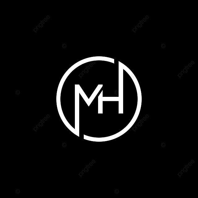 Letter M And H Logo Design For Business Initials Logo Design Minimal Logo Design Inspiration Monogram Logo Design
