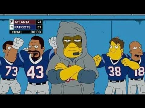 The Simpsons SUPER BOWL 51 Prediction