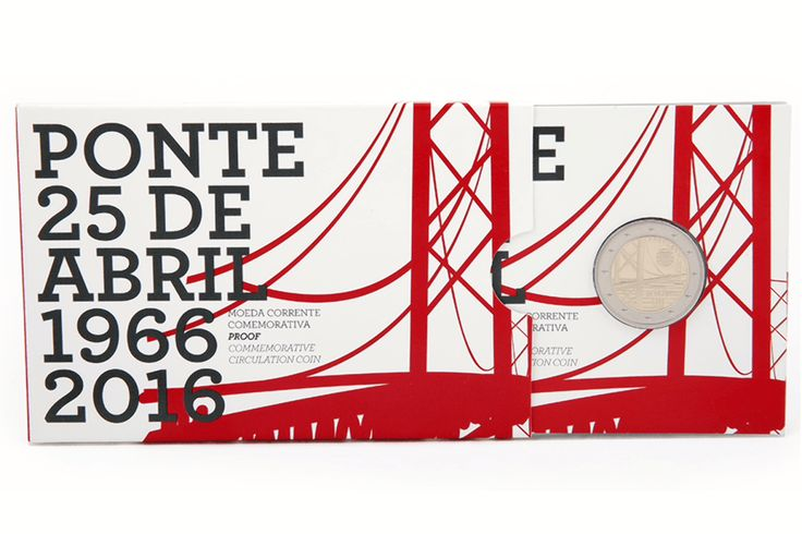 Portugal Issues 2nd Commemorative €2 Coin for 2016