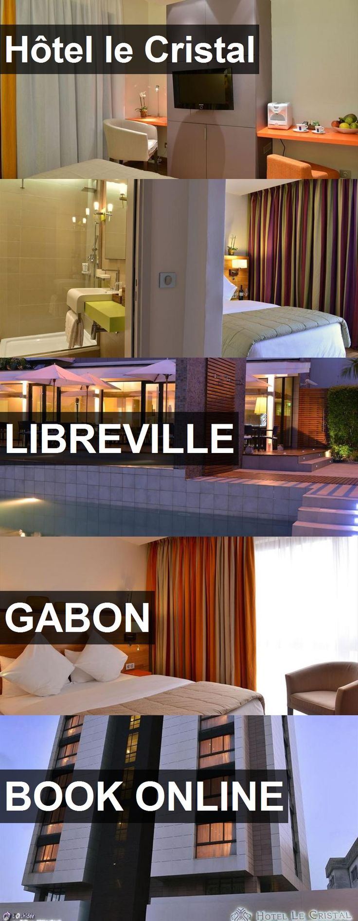 Hotel Hôtel le Cristal in Libreville, Gabon. For more information, photos, reviews and best prices please follow the link. #Gabon #Libreville #travel #vacation #hotel