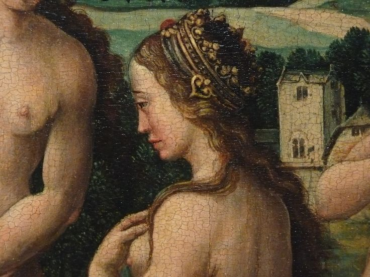 "COECKE VAN AELST Pieter,1530-40 - Le Songe de Pâris (Louvre) - Detail 17  -  TAGS / art painter peintre details détail détails painting paintings peintures tableaux Museum Paris France ""Dutch paintings"" ""peintres hollandais"" ""Dutch painters"" rêve dream love amour Venus Cupidon Cupid paon peacock animaux animal animals man men nu nude naked ""naked woman"" ""naked women"" nudity nudité bare ""femme nue"" ""nude female"" Mercure Junon ""Pâris endormi"" sleep asleep trees tree arbre nature"