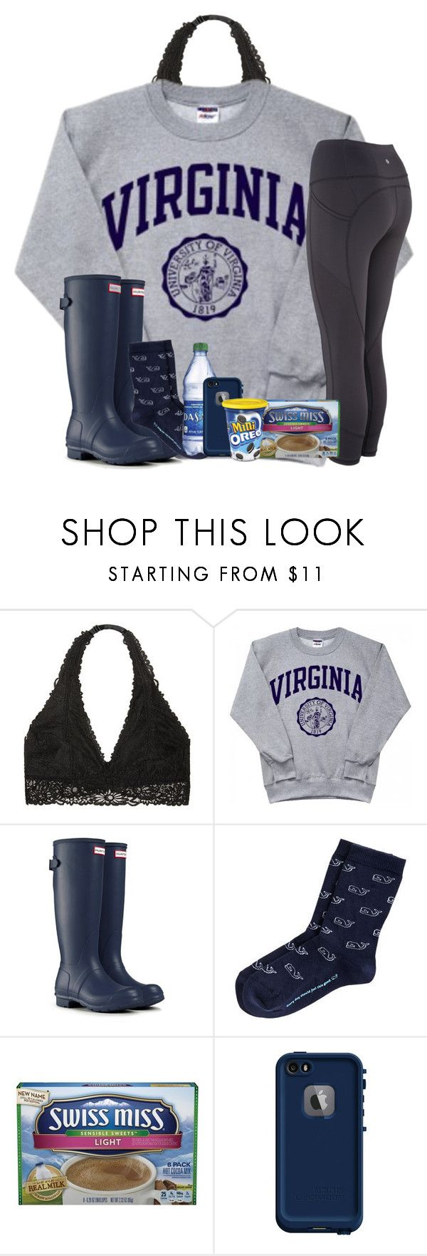 """""""rtd"""" by katie-1111 ❤ liked on Polyvore featuring Victoria's Secret, Hunter and LifeProof"""