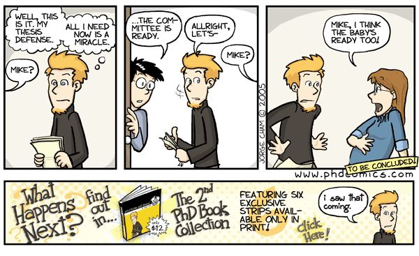 Thesis outline phd comics