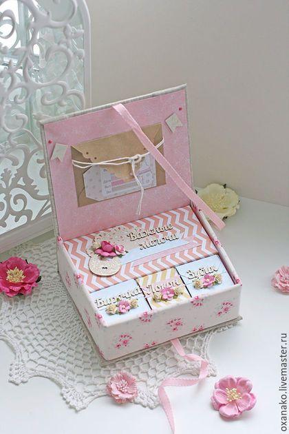Мамины сокровища коробочка для хранения памятных вещей