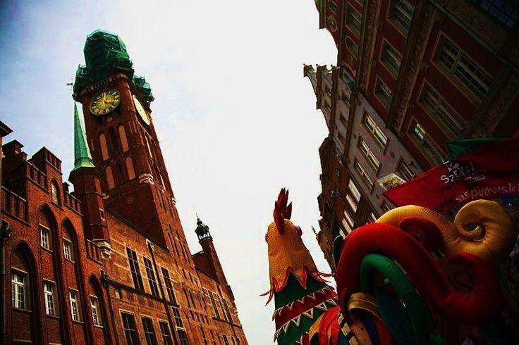 Kogut - symbol Jarmarku Dominikańskiego #gdansk