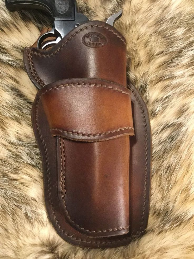 """Leather Western Cowboy Holster For 5 1/2"""" Single Action Revolver, US Made (38)    eBay"""