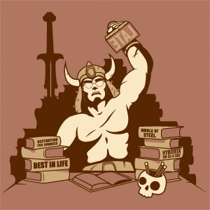 Conan the Librarian (dig the glasses): Libraries Stuff, Librarians Tshirt, Bookish Things, Librarians T Shirts, Conan, Book Hilar, Stuff Geek, Sexy Librarians, Libraries Humour