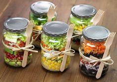 8 dicas para preparar a salada da semana no domingo à noite