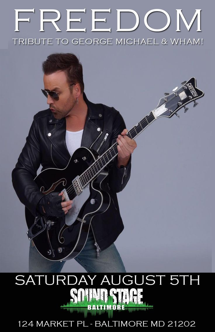 USA's only LIVE 10 piece band tribute to George Michael & Wham! Featuring vocalist/recording artist Jayden Frost as George Michael. The show features over an hour & a half of all the bigg