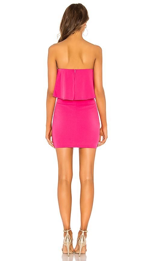 00c7829f99 by the way. Catalina Ruffle Tube Mini Dress in Hot Pink