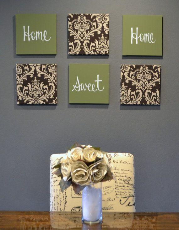 Best 25+ Brown wall decor ideas on Pinterest   Brown home ...