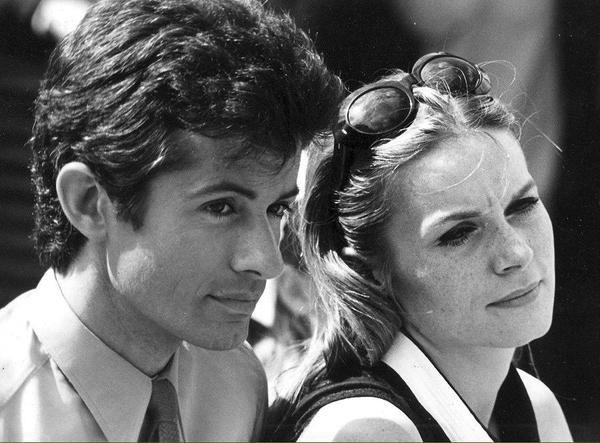 Francoise and George Chakiris