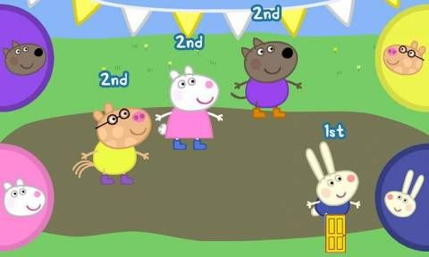 Peppa Pig's Sports Day - Android app for kids - a set of sports themed activities and mini-games featuring Peppa and her friends. Appysmarts score: 86/100 http://www.appysmarts.com/application/peppa-pig-s-sports-day-android-version,id_103159.php