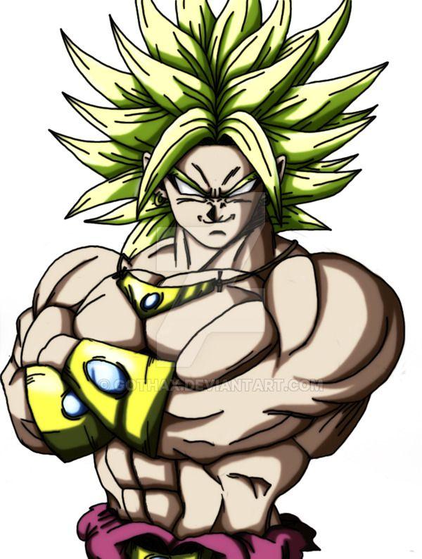 Ecco un disegno che contiene tutte le trasformazioni di Vegeta.
