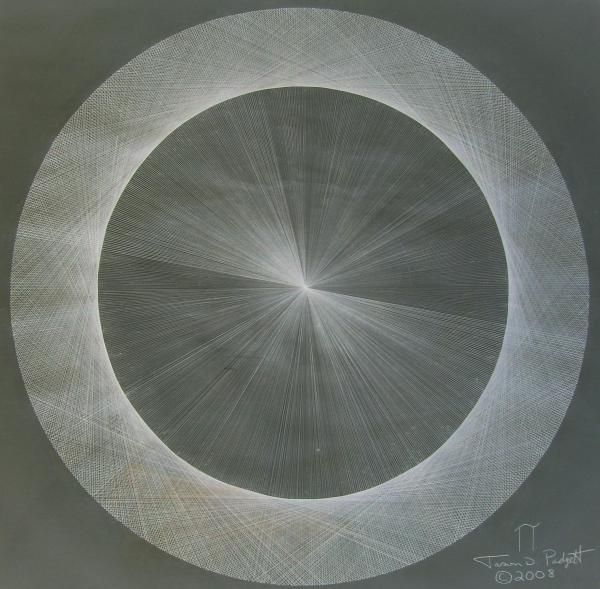 Light is Pi The shape of Pi (drawing) by Jason D. Padgett, a number theorist with Acquired Savant Syndrome.