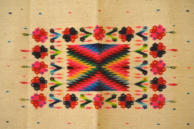 Serape Design Mexico by Teyacapan, via Flickr