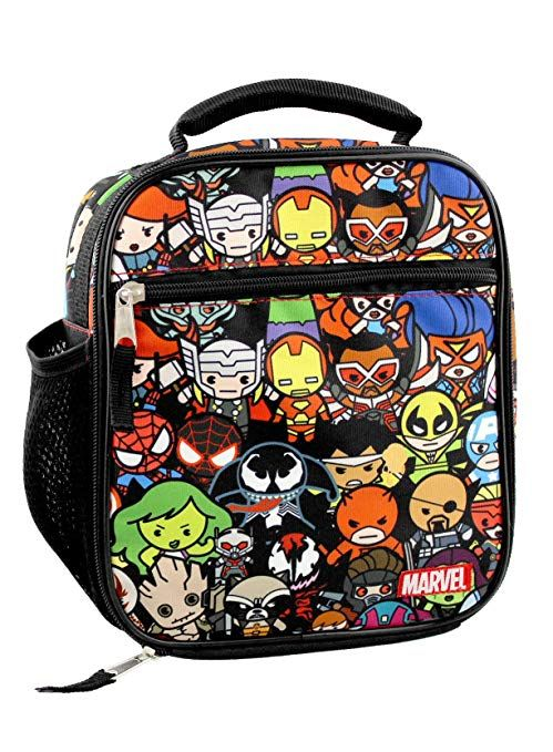 403c2f390371 This superhero lunch box features graphics of their favorite Marvel ...