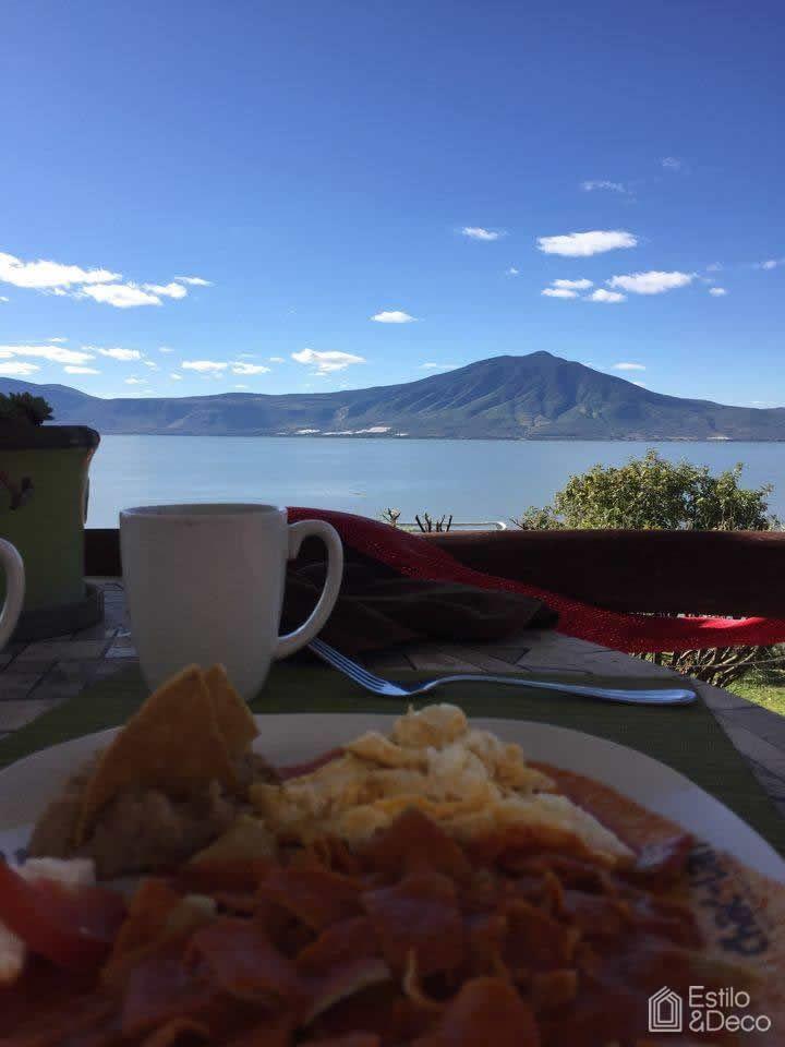 #Desayuno mexicano en Monte Coxala, en SanJuan Cosalá, Jalisco México. Hermoso #paisaje. Foto enviada por Ruthy Dz.